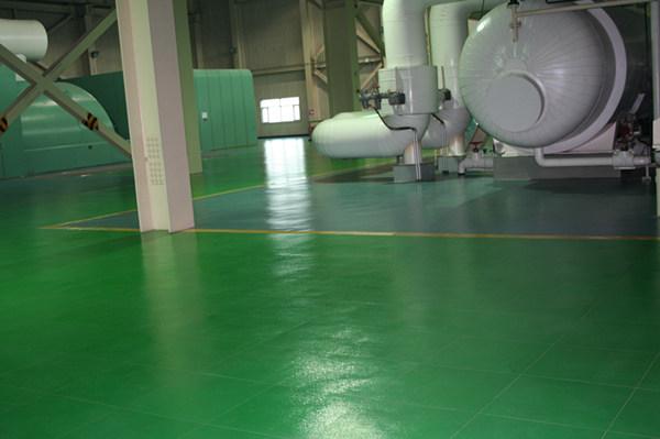 森纳电厂橡胶地板-北京太阳宫发电厂案例展示