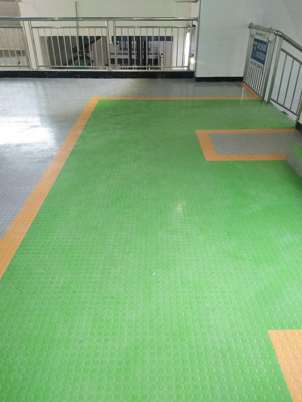森纳橡胶地板广州江门国华电厂顺利完工