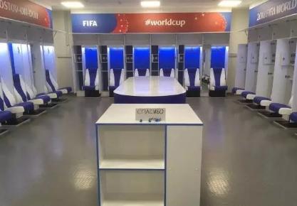 世界杯惊现橡胶地板元素